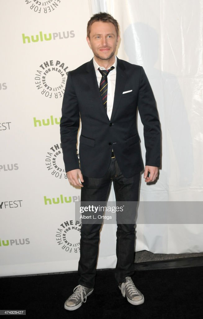 Host/TV personality <a gi-track='captionPersonalityLinkClicked' href=/galleries/search?phrase=Chris+Hardwick&family=editorial&specificpeople=960855 ng-click='$event.stopPropagation()'>Chris Hardwick</a> participates in The Paley Center For Media's PaleyFest 2013 Honoring 'The Walking Dead' held at The Saban Theater on March 1, 2013 in Beverly Hills, California.
