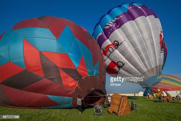 Hot Air Balloon Festival at the Flying Circus AirShow