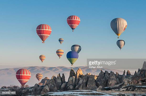 Hot Air Ballooning in Cappadocia, Nevsehir, Turkey