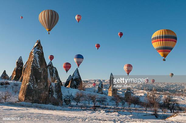 Hot Air Ballooning in Cappadocia,Turkey