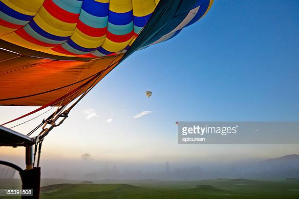 Hot Air Balloons in Napa Valley California