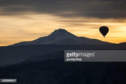 Hot Air Balloons of Cappadocia : Stock Photo