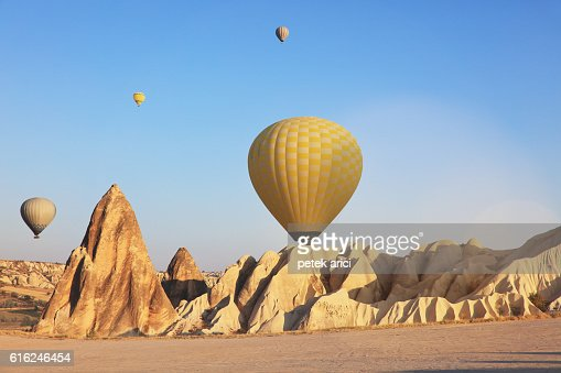 Hot air balloons : Stock Photo