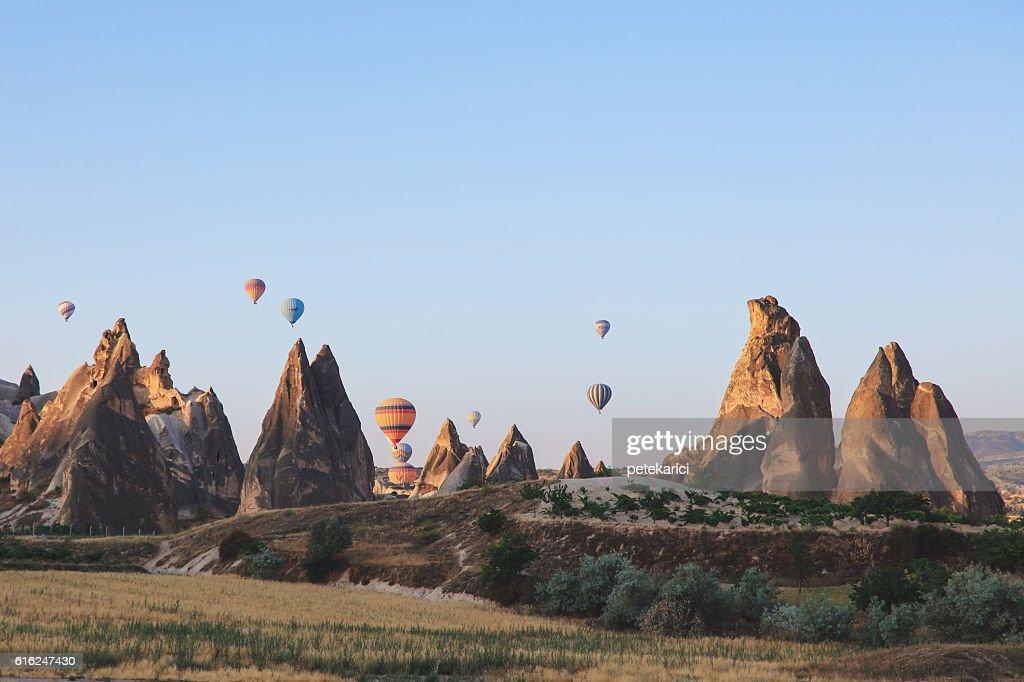 Heißluftballon  : Stock-Foto