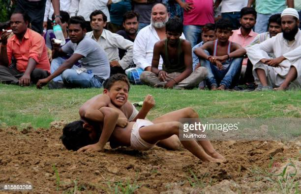 Freestyle athletes are wrestling to earn the partially collected prize money which is often organized by locals at one of the grounds in Old Delhi...