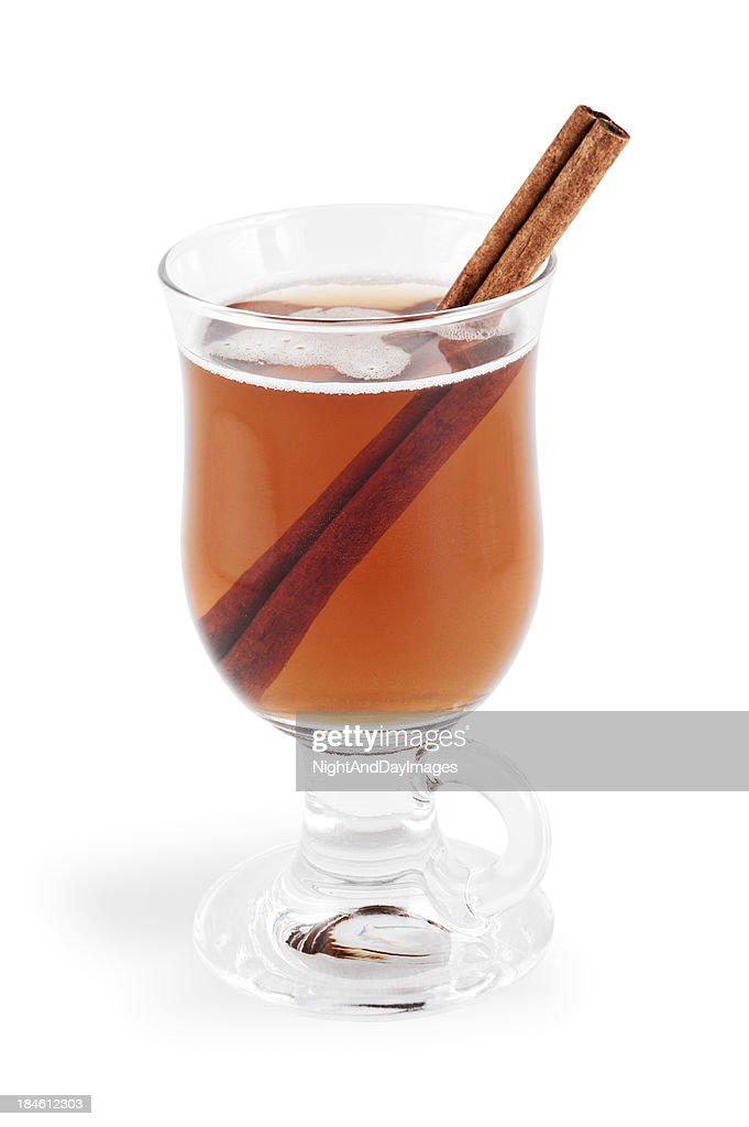 Hot Apple Cider with Clipping Path