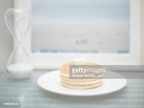 Hot cake : Stock Photo