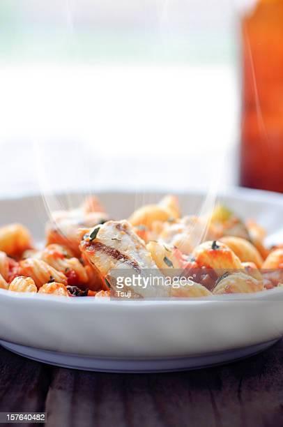 Hot Cavatappi pâtes