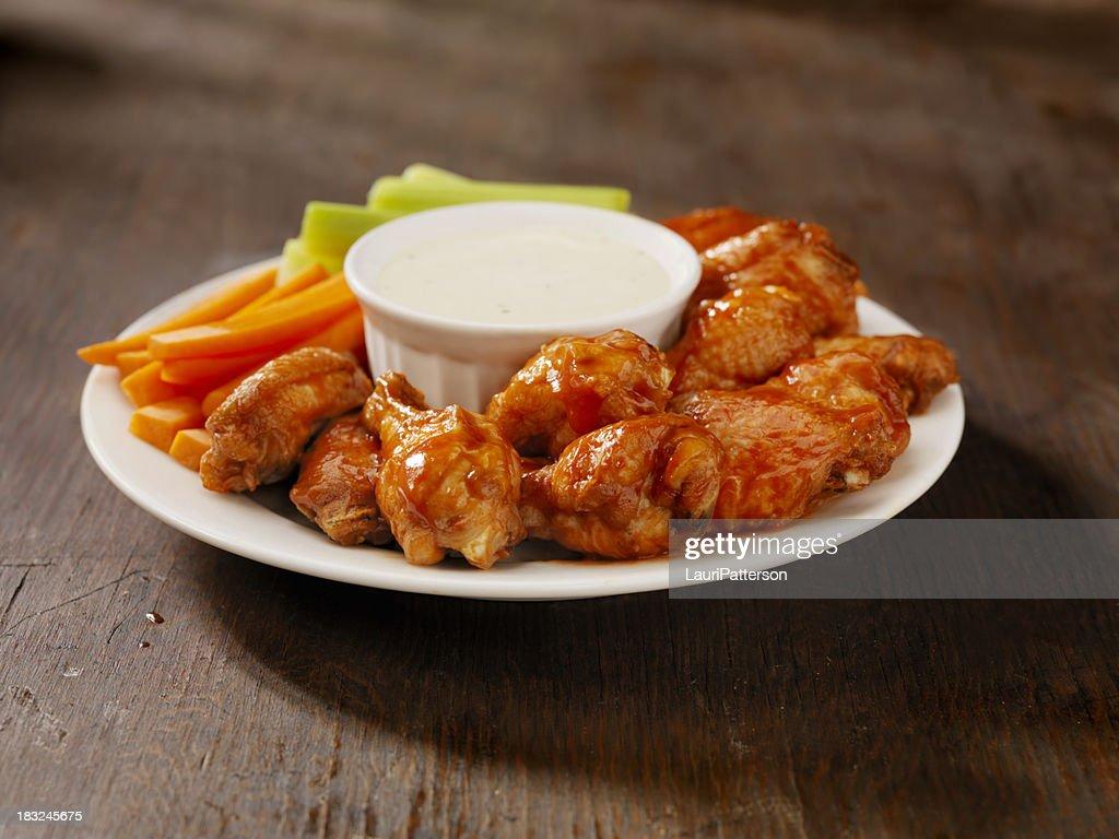 Hot Chicken Wing Platter