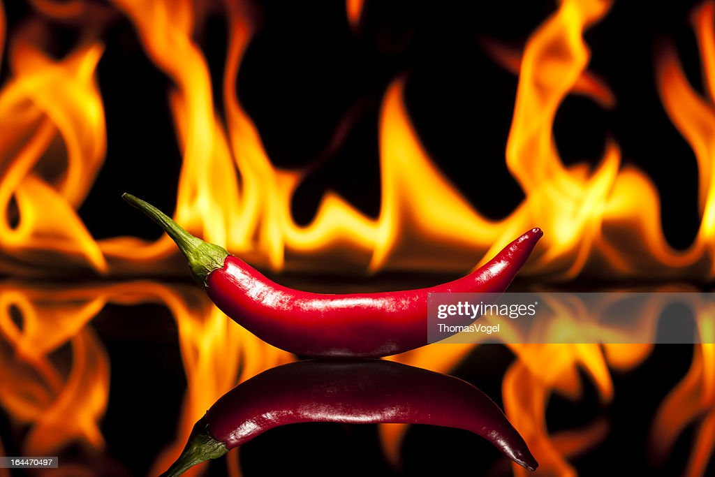 Hot Chili Pepper - Fire Flame