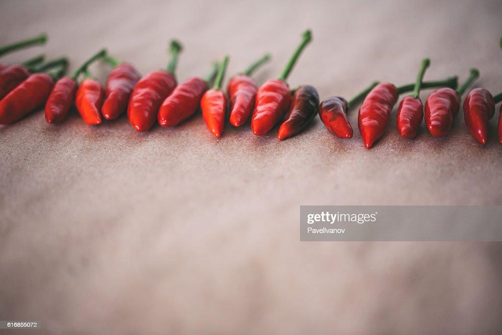 Hot chili pepper. : Stock Photo