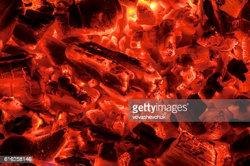 hot coals texture : Foto de stock