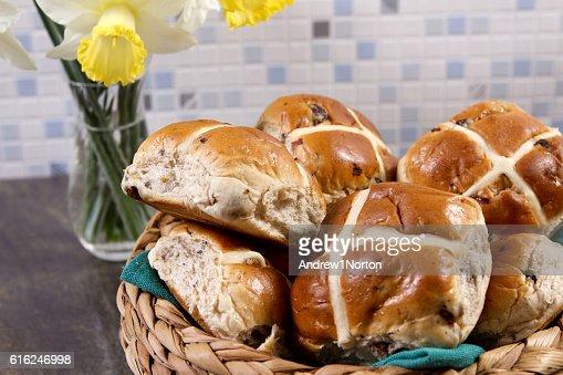 Hot cross buns  : Foto de stock