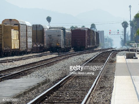 Hot day on the tracks