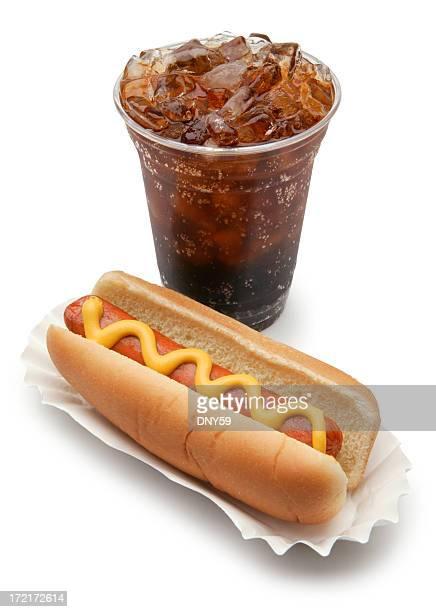 Hot Dog and Soda