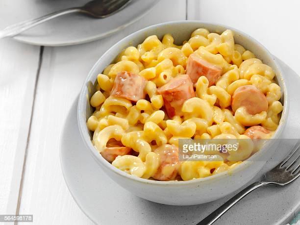 Hot Dog Macaroni and Cheese