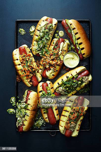 Hot Dogs with Relish