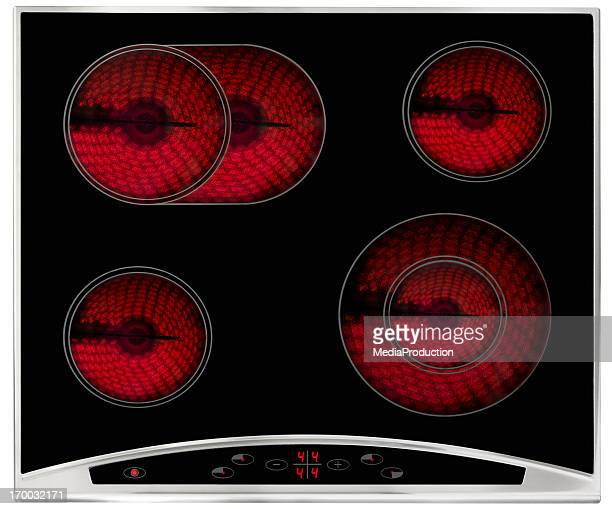 Hot electric hob