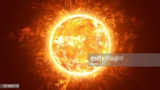 Hot Fiery Sun