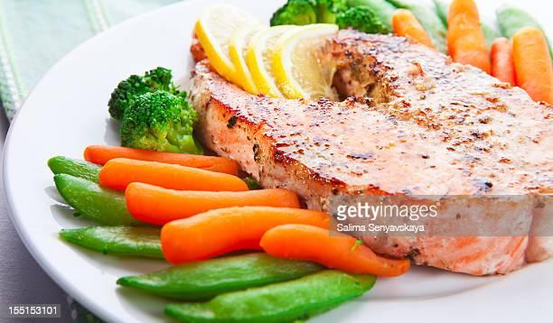 Hot fish dish