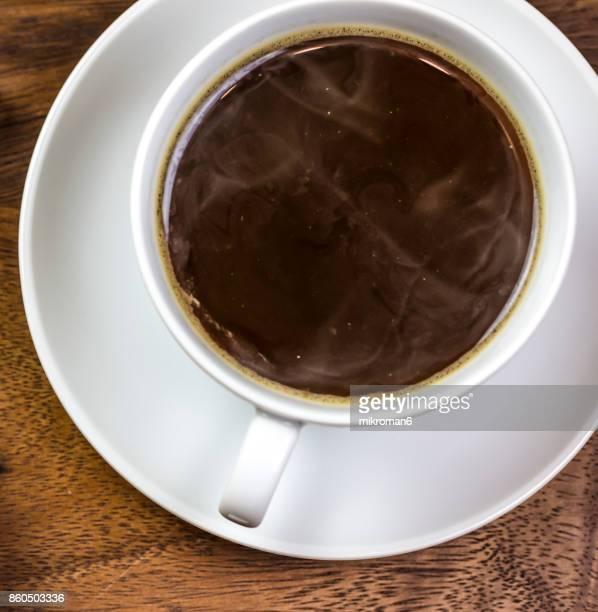 Hot, fresh Coffee. Coffee cup