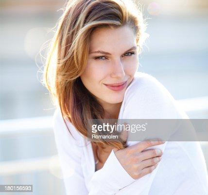Hot Girls Wearing Sweaters Stock Photo Thinkstock