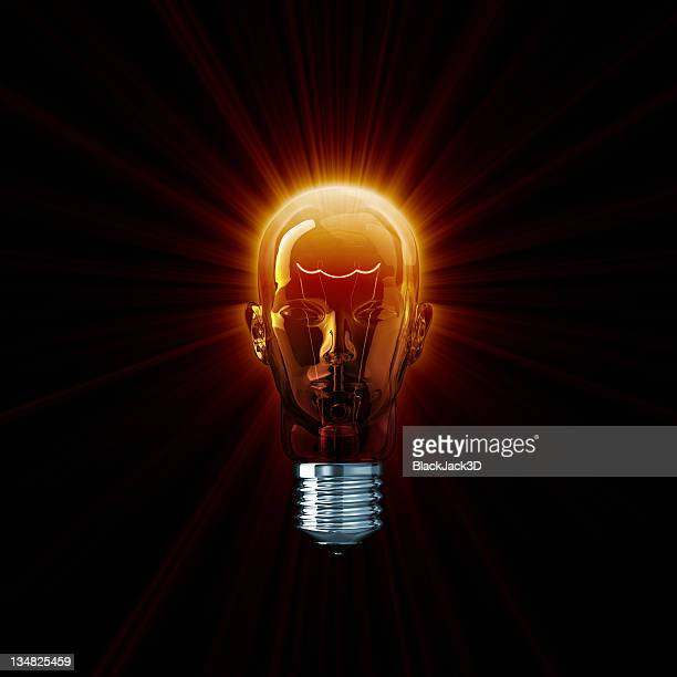 Hot Light Bulb Head