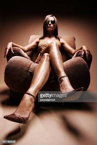 Sexy Crossed Legs Stock Photos And Pictures Getty Images