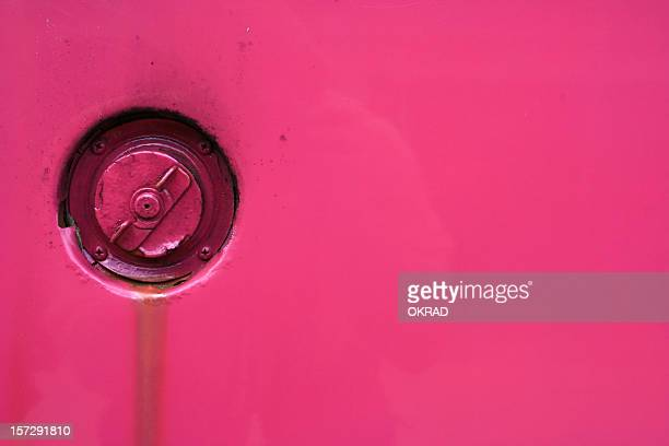 Hot Pink Bug Gas Cap background wallpaper