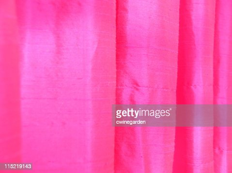 Hot Pink Thai Silk