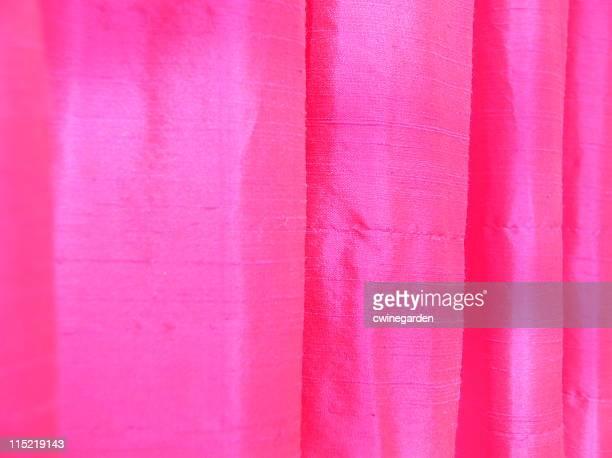 Hot Pink Thai Silk