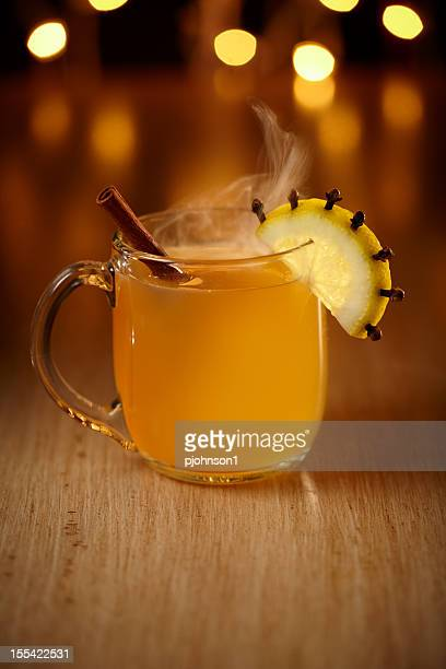 Hot rum toddy
