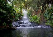 Hot Springs in La Fortuna, Costa Rica near Arenal Volcano