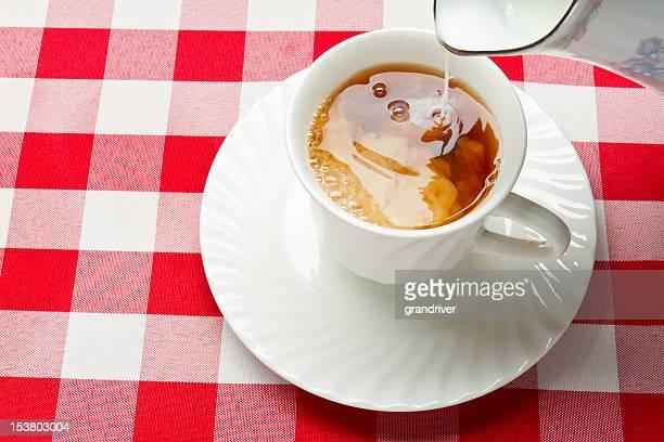 ホットティーやミルク、ホワイト Teacup