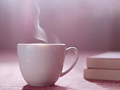 Hot Tea or Coffee and Books