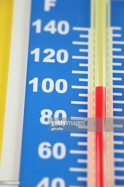 Warme Temperaturen (Fahrenheit