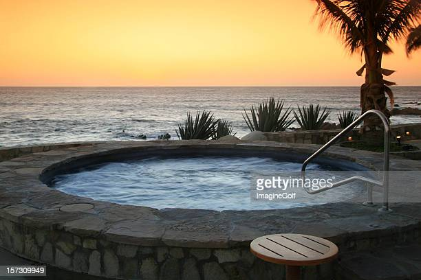 Hot Tub at a Luxury Resort in the Tropics