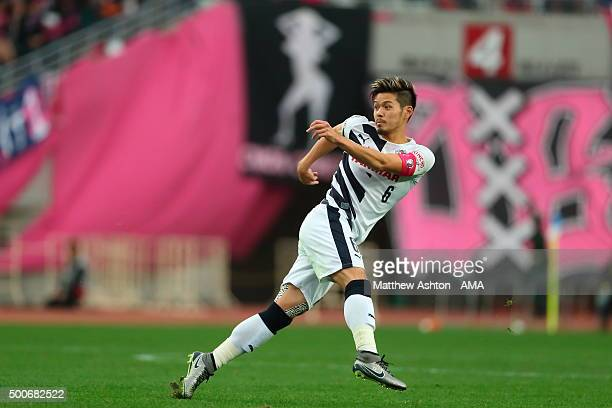 Hotaru Yamaguchi of Cerezo Osaka during the J2 Promotion Play Off Final between Avispa Fukuoka and Cerezo Osaka at Yanmar Stadium on December 6 2015...