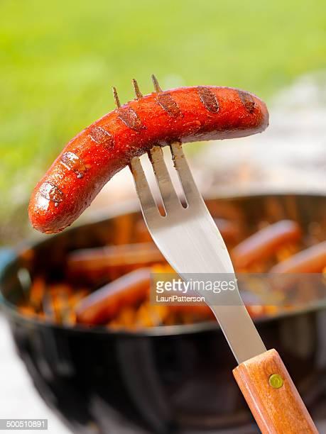 Hotdogs 料理、バーベキュー
