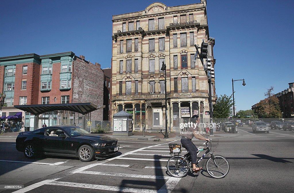 Hotel Alexandra on Washington Street and Massachusetts Avenue in Boston's South End Wednesday September 17 2014