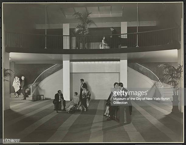 Hotel Astor Broadway 45th Street Interior With Models Roof Ball Room New York New York 1929