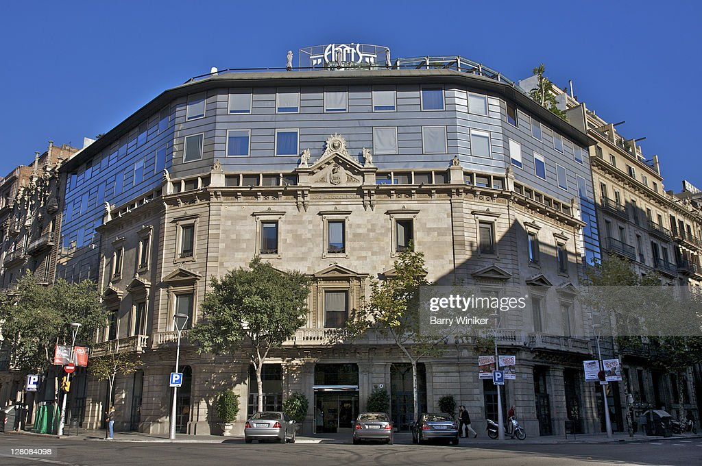 Hotel Claris, Barcelona, Catalunia, Spain, Former 19th century Vedruna Palace : Stock Photo