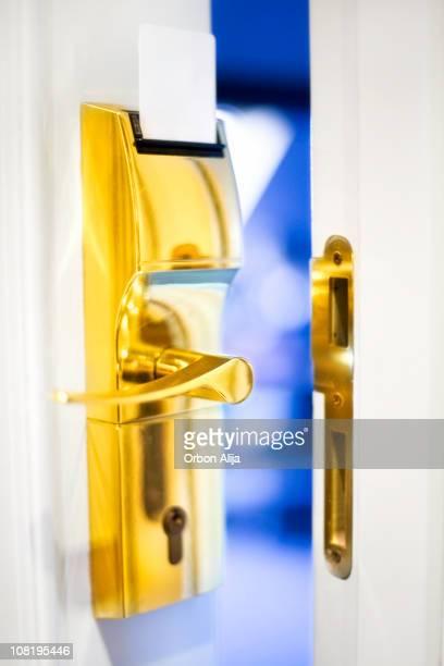 hotel door
