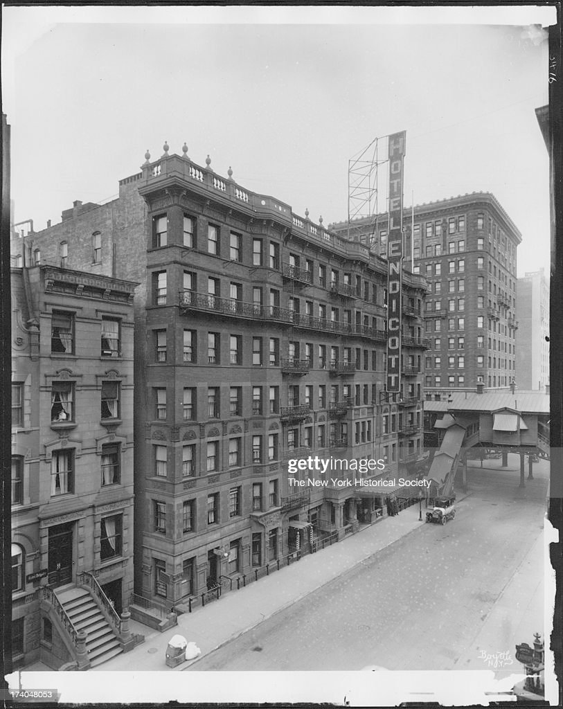 Hotel Endicott West 81 St Street New York Early Twentieth