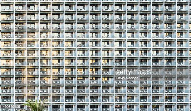 Hotel exterior, Honolulu.