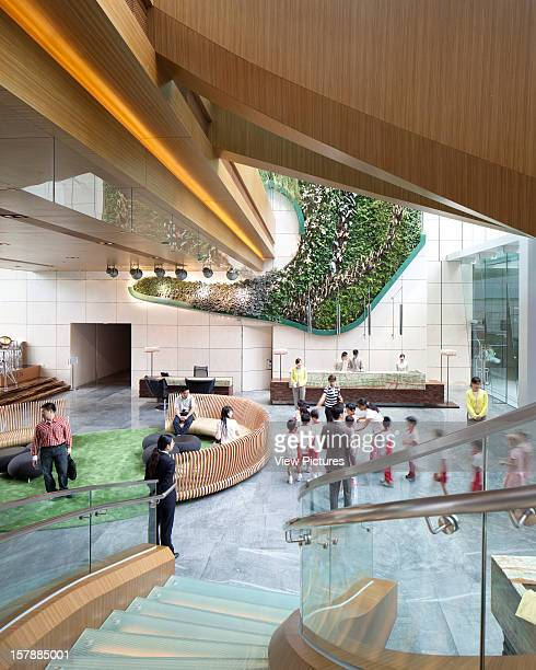 Hotel Icon Reception Rocco Yim China Architect