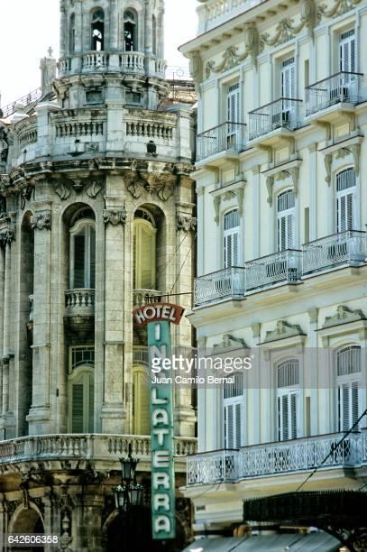 Hotel Inglaterra (England Hotel) in Havana, Cuba