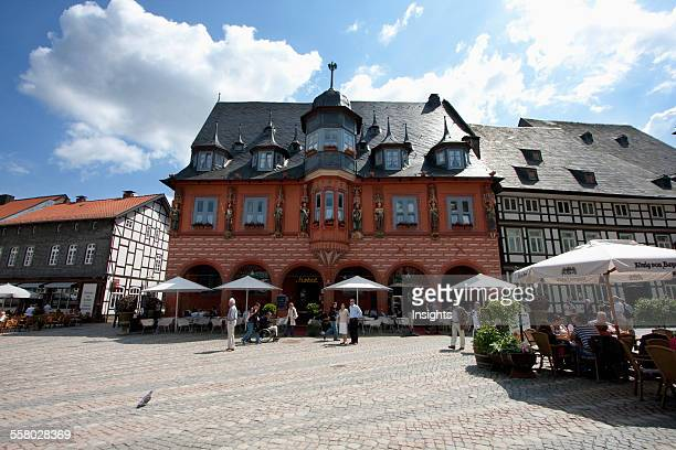 Hotel Kaiserworth Located In The Former Guild House On The Market Place Goslar Germany