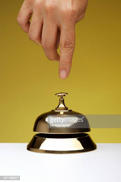 Hotel life: reception bell