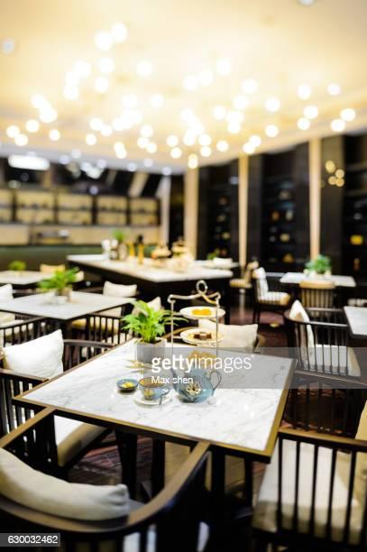 hotel lounge cafe interior
